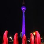 Die Wächter der Zeit / Berlin am Fernsehturm