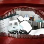 In einer Zahnarztpraxis