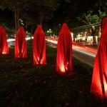 Festival of Lights 2011 - Die Wächter der Zeit auf dem Ku'damm