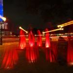 Festival of Lights 2011 - Die Wächter der Zeit an der Siegessäule