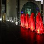 Festival of Lights 2011 - Die Wächter der Zeit im Regierungsviertel