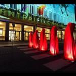 Festival of Lights 2011 - Die Wächter der Zeit am stillgelegten Flughafen Tempelhof
