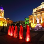 Festival of Lights 2011 - Die Wächter der Zeit am Berliner Gendarmenmarkt