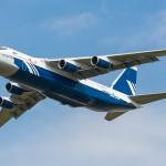 17 - Antonov 124 verlässt SXF