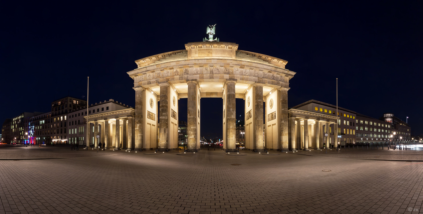 Berlin - Brandenburger Tor - Panorama