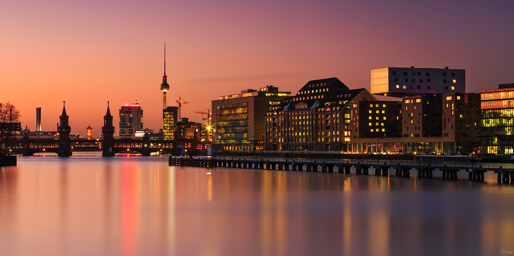 Berlin_Skyline_Sunset