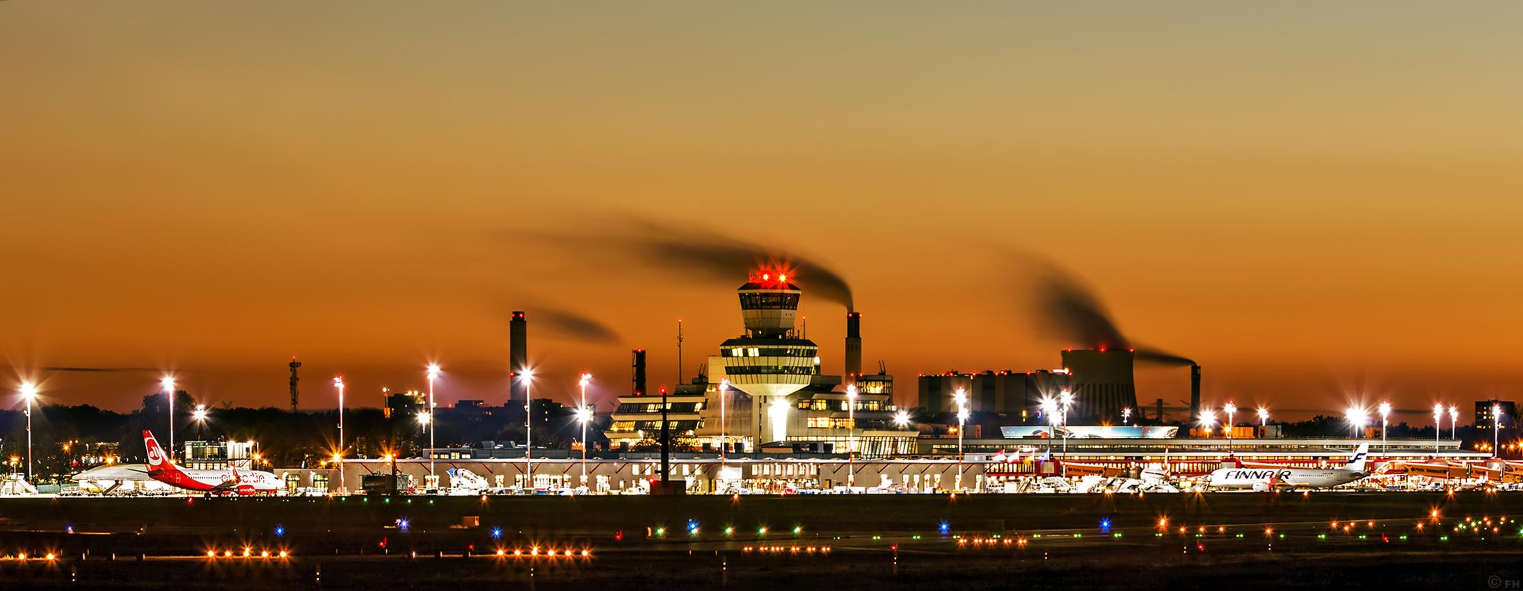 Berlin flughafen tegel txl skyline for Flughafen tegel