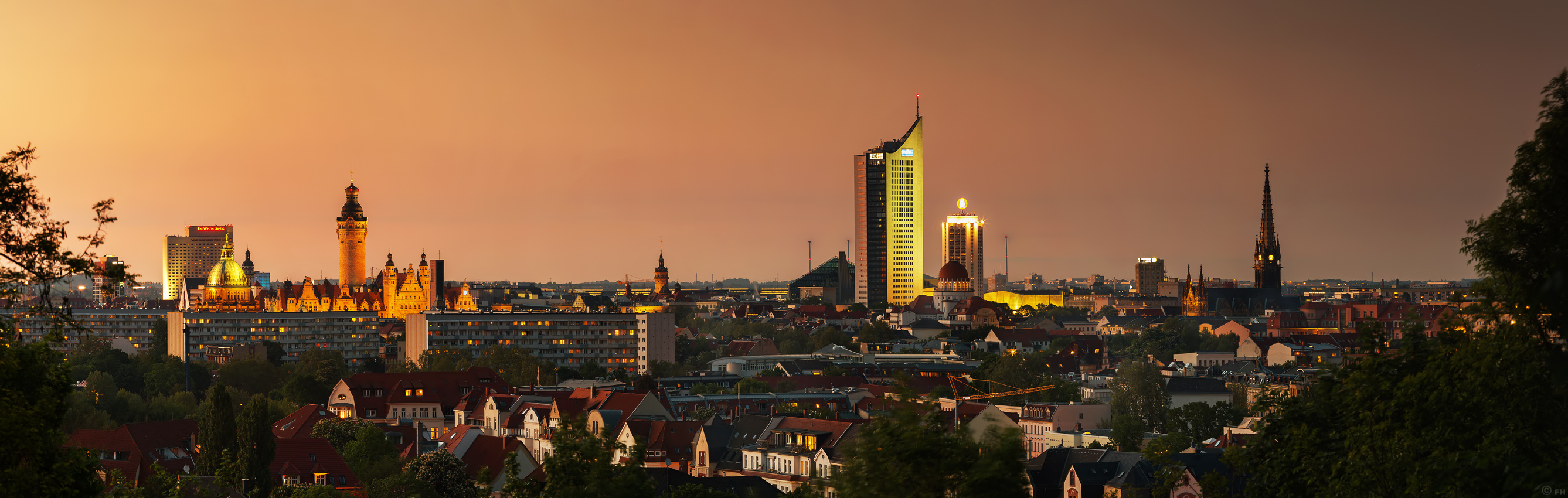 fhmedien.de   Leipzig Skyline