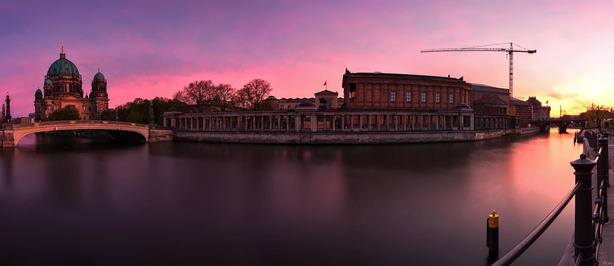 Fhmedien De Museumsinsel Berlin Skyline Panorama