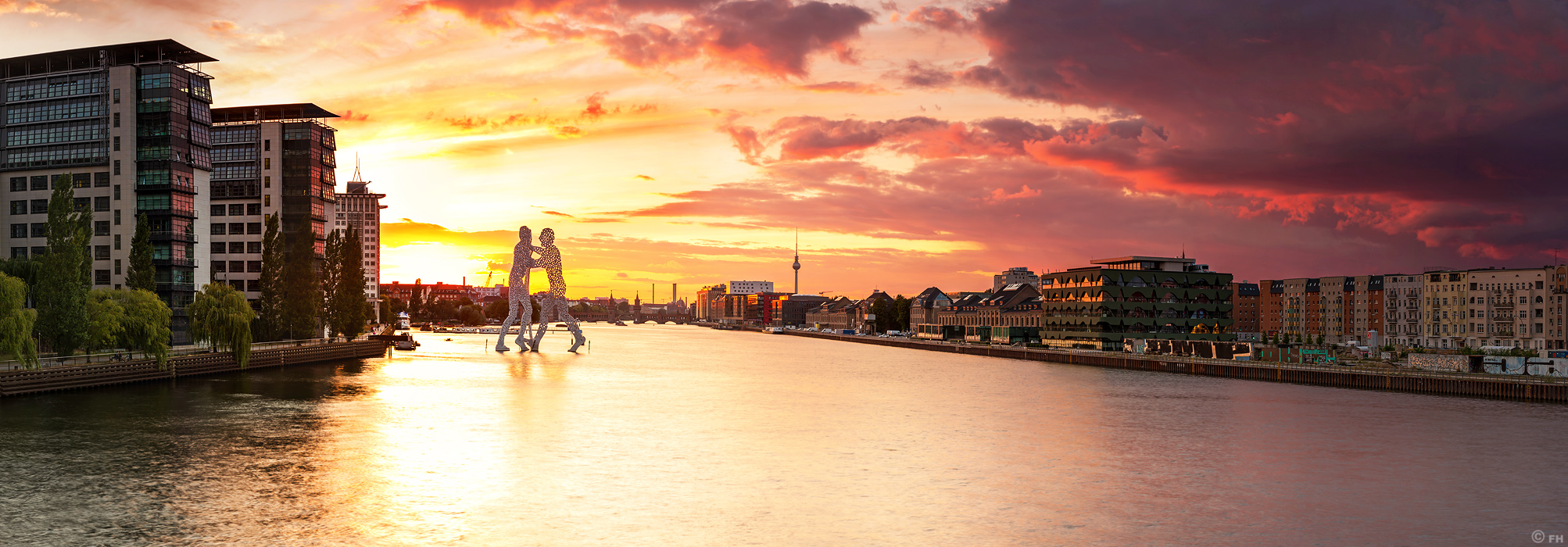 Osthafen_sunset
